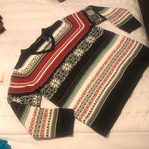 Liz Claiborne Crazy Horse winter Vneck sweater